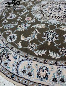 فرش دستباف دایره نایین سایز 1/5 متر