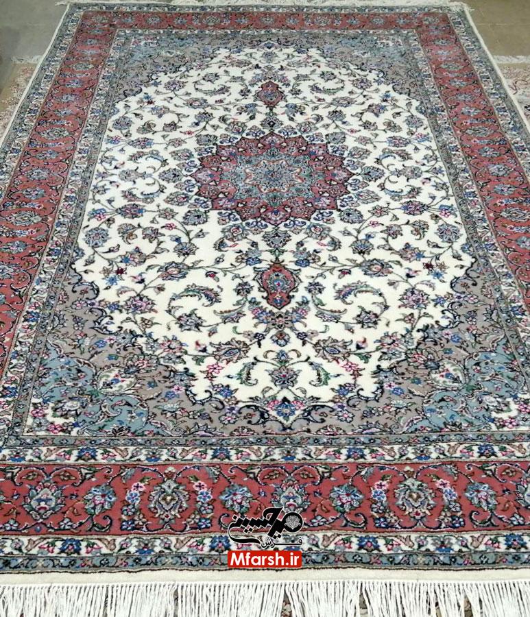 فرش دستباف شش متری اردکان طرح بهار