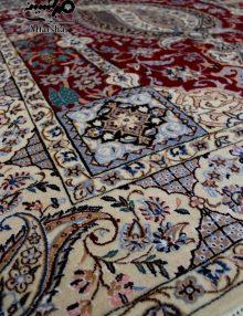 فرش دستباف طرح بته جقه نایین