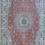قالیچه دستباف لچک ترنج نایین چهار متری