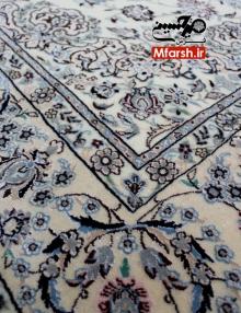قالیچه دستباف لچک ترنج نقشه اخوان نایین چهار متری 6لا