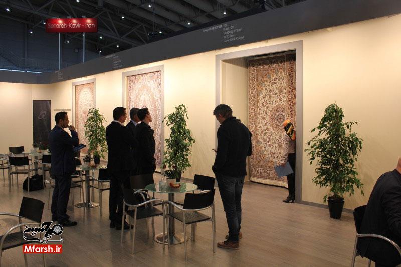 نمایشگاه فرش دموتکس آلمان میزبان فرش ایرانی