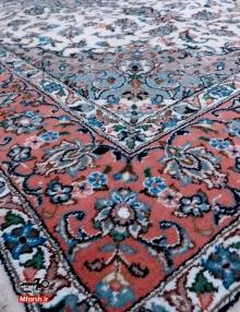 قالیچه پرده ای دستباف اردکان طرح بهار 32 خانه بافت فرش