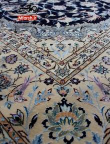 قالیچه نقشه اژدری حبیبیان نایین چهار متری 6لا