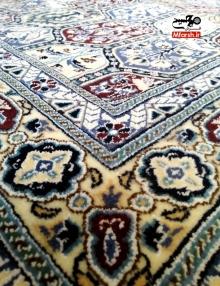 فرش دستباف قاب قلمدان نقشه اصیلنایین 9 لا
